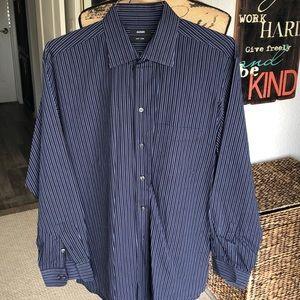 Men's Alfani long sleeve dress shirt. L 161/2